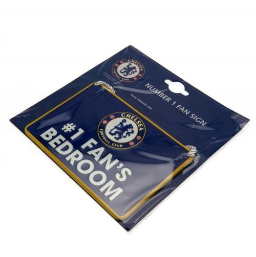 Chelsea Fc Number One Fan Metal Sign Cfc Football Gift